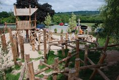 We design and build natural, stimulating 'habitats' and playgrounds that invite children to play freely in a world of their own imagining,