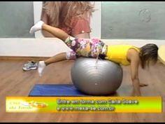 Exercícios com bola - YouTube
