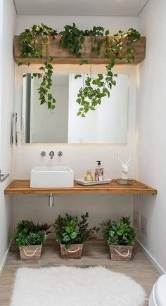 Zoom on kitchen trends 2018 - My Romodel House Plants Decor, Plant Decor, Bathroom Interior Design, Interior Decorating, Decorating Kitchen, Diy Home Decor, Home Decoration, Bedroom Decor, House Design
