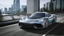 Mercedes-AMG Project One Bursts Into Frankfurt With 1000 HP :  With a Formula 1 car about to receive the closest thing to a road-legal equivalent we are all fortunate to be living in such interesting times. Mercedes last flagship performance car was the SLS Black Series from several years ago - back when the companys fast cars were still labeled Mercedes-Benz - but the hotly anticipated Mercedes-AMG Project One about to break cover will be more than just a simple successor. An entirely…