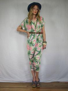 Vintage Hawaiian print Jumpsuit (I own this)