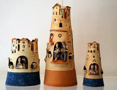 Castillos de ceramica