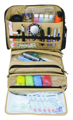 Travelon Independence Toiletry Bag  Keep your essentials organized and accessible with this travel necessity