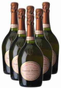 One of my favourites: Laurent Perrier rosé