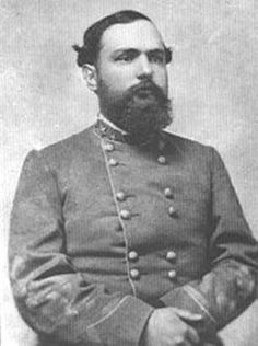 "Confederate Major General William Henry Fitzhugh ""Rooney"" Lee (31 May 1837 - 15 Oct 1891).  At the start of the Civil War, he was commissioned a Captain in the Confederate Cavalry and made Major in the Western Virginia Volunteers.  He was promoted Brigadier General and commanded the 3rd Cavalry Brigade at Fredericksburg, Chancellorsville and at Brandy Station where he captured. He was released in March, 1864 and was promoted as the youngest Confederate Major General in April, 1864."