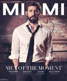 John Krasinski for Modern Luxury Miami - April 2018