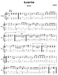 sleigh ride easy piano pdf