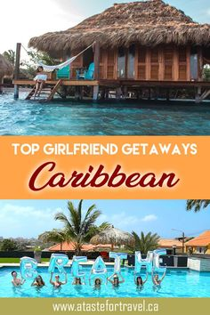 If you're looking for the best girlfriend getaways in the Caribbean, here are some top picks for a bachelorette party, reunion or anti-Valentine's Day tropical escape. Best Carribean Vacation, Best Tropical Vacations, Best Island Vacation, Caribbean Vacations, Caribbean Island Resorts, Best Carribean Island, Beach Vacations, Romantic Vacations, Romantic Getaways