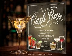 find this pin and more on savethedate cash bar