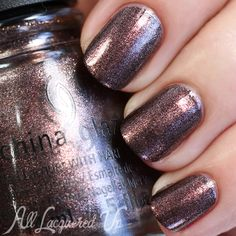 China Glaze Fall 2015 – The Great Outdoors collection: Would You Wanna?