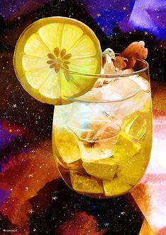 Buku Buku Witchy Wallpaper, Scenery Wallpaper, Galaxy Wallpaper, Food Illustrations, Illustration Art, Tee Kunst, Anime Galaxy, Illusion Art, Tea Art