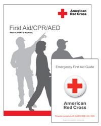 7c06434830b First Aid CPR AED Participant s Manual with Emergency First Aid Guide - Red  Cross Store