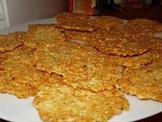 Parmesan Chips - South Beach Diet Friendly