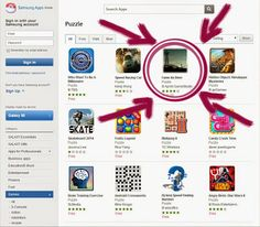 'Fanie de Beer' has moved up from number 30 in the Samsung Apps puzzle game category to number :D
