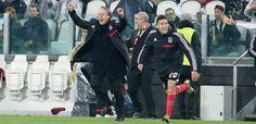 Meia final da Liga Europa - Juventus 0, Benfica 0. Jorge Jesus e Gaitán festejam o acesso à 10.ª final Europeia, 2.ª consecutiva.