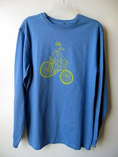 Duckbilled Rambler  100 Percent Cotton  Adult Small by themusta, $15.00