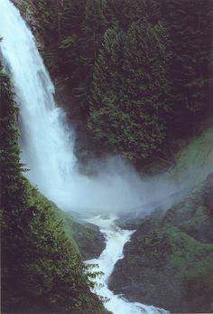 middle falls wallace falls, via Flickr.