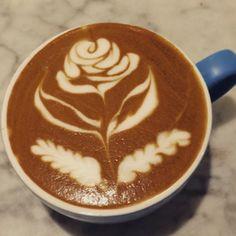 rose #latteart