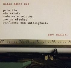 "As ""Notas sobre ela"" do Zack Magiezi 