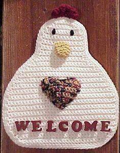 Welcome Chicken: Free #Crochet Chicken Patterns!