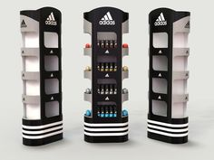 point of sale concept that i developed for adidas under Indigo.