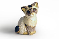 Статуэтка Сиамский котёнок Бренд: De Rosa Страна: Уругвай  Керамика 7см Артикул: 31983 Цена: 1585 руб.