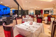 canelands beach club and spa :   The restaurant is open for breakfast, lunch and ...
