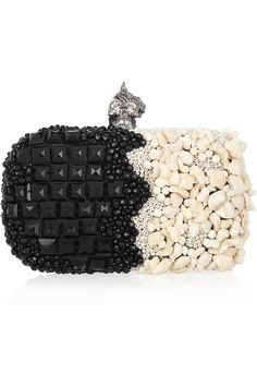 punk shell embellished box clutch alexander mcqueen s/s2012