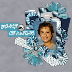 """I used Elements and Paper from the Collection """"OH BOY"""" by Ilonka's Scrapbook Designs  available @ Digiscrapbooking Boutique http://www.digiscrapbooking.ch/shop/index.php?main_page=product_info&cPath=22_188&products_id=17563  Photo by me"""