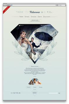 Videorow by Ekateryna Logvynenko #webdesign
