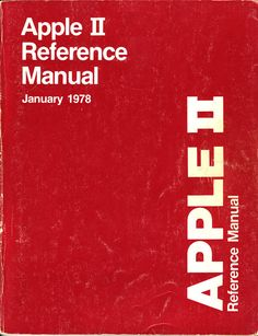 """The Apple """"red book"""" from 1978. It included a complete source listing of the ROM! I used it to learn 6502 assembly language."""
