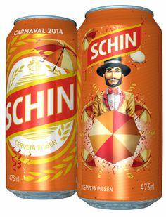 Taís Paranhos: Cerveja Schin lança lata temática de Carnaval em Pernambuco