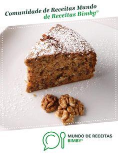 BOLO DE CANELA E CENOURA de Equipa Bimby. Receita Bimby<sup>®</sup> na categoria Bolos e Biscoitos do www.mundodereceitasbimby.com.pt, A Comunidade de Receitas Bimby<sup>®</sup>.