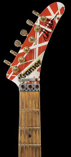 Buy online, view images and see past prices for Eddie Van Halen's 1982 Kramer Guitar - one of the first 8 iconic custom guitars Kramer hand-built for the guitar virtuoso. Invaluable is the world's largest marketplace for art, antiques, and collectibles.