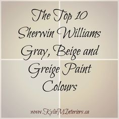 Williams : 5 of the Best Neutral / Beige Paint Colours the best, top 10 sherwin williams gray, beige and greige paint colours for any room in your homethe best, top 10 sherwin williams gray, beige and greige paint colours for any room in your home Best Neutral Paint Colors, Interior Paint Colors, Paint Colors For Home, Wall Colors, House Colors, Paint Colours, Interior Painting, Color Paints, Behr Colors