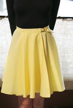 circle skirt tutorial #DIY #sewing #tutorial