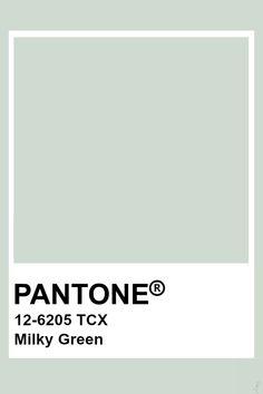 Pantone Milky Green Paleta Pantone, Pantone Tcx, Pantone Swatches, Color Swatches, Colour Pallete, Colour Schemes, Color Trends, Pantone Colour Palettes, Pantone Color