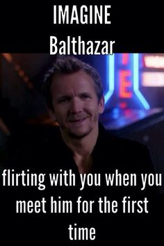 I'll become all shy, but I'll flirt alittle back.