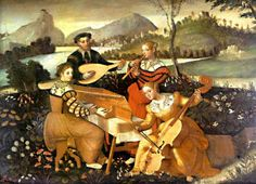 Unknown (16th century) - Concert   higher camicia that would work for the mermaid bands