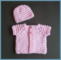 marianna's lazy daisy days: Premature Baby - Kinzie Baby Top and Hat