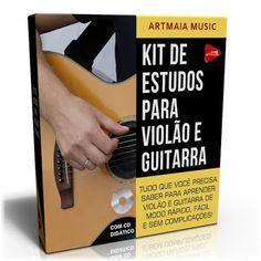DICAS E AULAS DE VIOLÃO E GUITARRA: Curso de Violão e Guitarra - Kit de Estudos Blog, Music Teachers, Guitar Classes, Tips, Sheet Music, Guitars