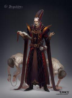 Inquisitor, Galina Loky on ArtStation at https://www.artstation.com/artwork/inquisitor-471c826a-ce86-4630-b644-087b0f2bce28