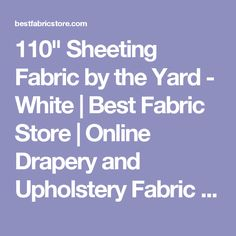 Shop Best Fabric Store today for discount upholstery fabric online. Discount Upholstery Fabric, Shower Rod, Muslin Fabric, Custom Shower Curtains, Store Online, Drapery, The Originals, Fabrics, Yard