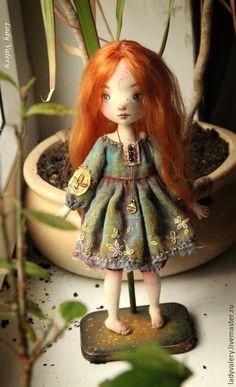 Коллекционные куклы ручной работы. Дарёнка. Lady Valery. Интернет-магазин Ярмарка Мастеров. Кукла ручной работы, кукла текстильная