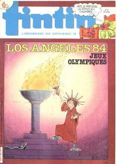 Le Journal de Tintin - Edition Belge - N°  1972 - 1984-27 - Mardi 3 Juillet 1984 - Couverture : Serge Ernst
