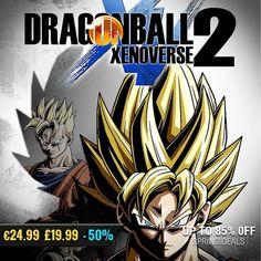 April #gamedeals Dragon Ball Xenoverse 2 -50% Off 24.99 19.99 http://ift.tt/2oBywTm #bandai #pcgaming #pcgamer #gaming #siladeals