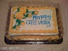 Cake Wrecks!!! This is my absolute favorite site. I can spend hours on this site and never stop laughing. Incase anyone was wondering...I don't have the books...