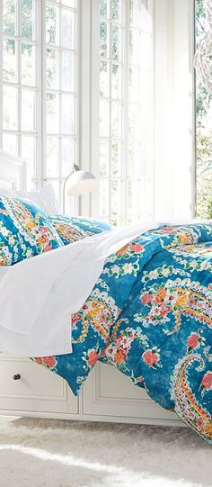 Paisley Blossoms Girls Bedding
