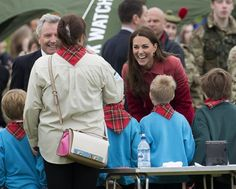 Kate Middleton Photos - Prince William and Kate Middleton Visit Scotland - Zimbio