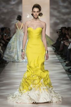 Georges Chakra Couture Spring Summer 2015 Paris - NOWFASHION
